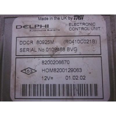 ECU DELPHI RENAULT 8200206670 / R0410C021B Comprar centralita de coche - Reparación electrónica - Repromotor Extremadura